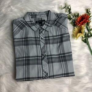 New! INC Long Sleeve Button Down Shirt L